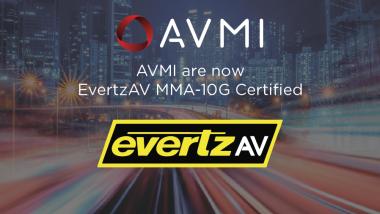 AVMI Become EvertzAV Certified