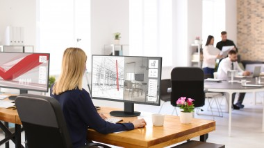 NEC debuts new generation 27 inch displays for more relaxing working experience