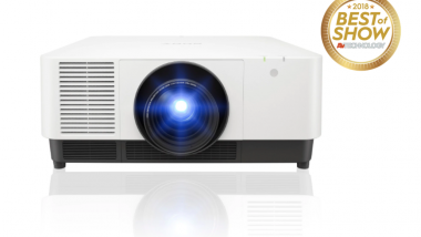 Sony's ISE laser projectors now shipping
