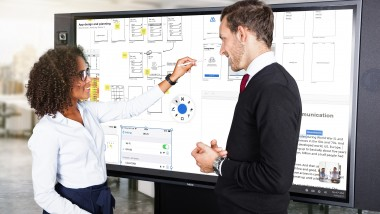 """NEC launches next-generation InfinityBoard® for collaboration that """"just works"""""""