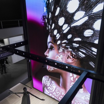 NEC announces new range of Direct View LED solutions for compelling impressions in any environment