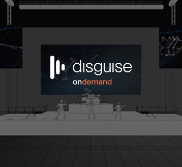 Free Software, plus Training and Webinars from 'disguise OnDemand'