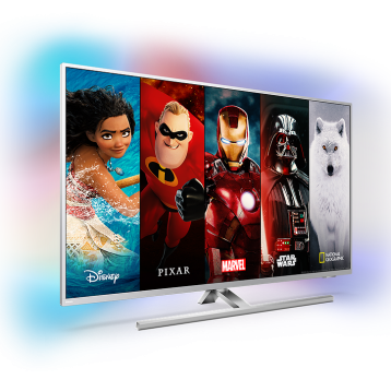 Disney+ now available on Philips Ambilight Android TVs in Latest European Countries