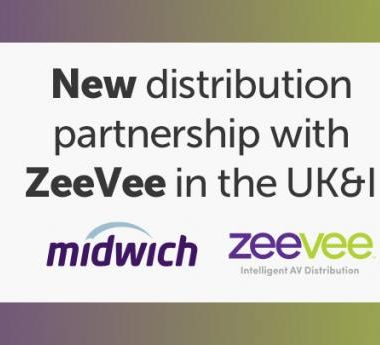 Midwich distribution partnership with ZeeVee