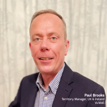 VuWall has announced Paul Brooks