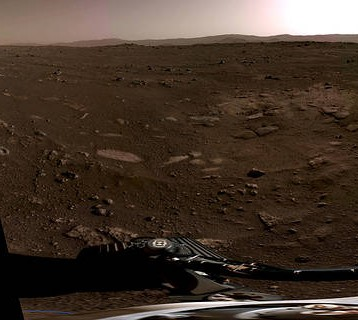 NASA's Mars Perseverance Rover Provides Front-Row Seat to Landing, First Audio Recording of Red Planet
