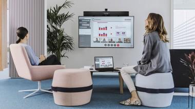 Nureva® HDL200 audio conferencing system certified for Barco ClickShare Conference