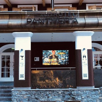 "Hotel Panther'a installs 86"" TV from Peerless-AV"