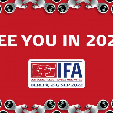IFA BERLIN 2021 – The world's leading trade show for consumer and home electronics will return in 2022