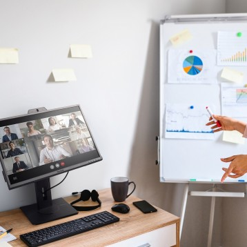 ViewSonic monitors for  work-from-anywhere