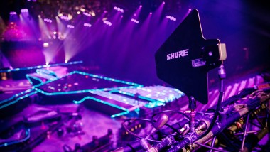 Shure Powers Ampco Flashlight at Eurovision Song Contest 2021 with Axient® Digital Wireless System