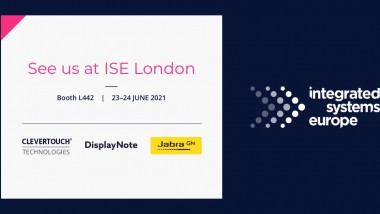 Jabra and Clevertouch Technologies to show the future of hybrid meetings at ISE London