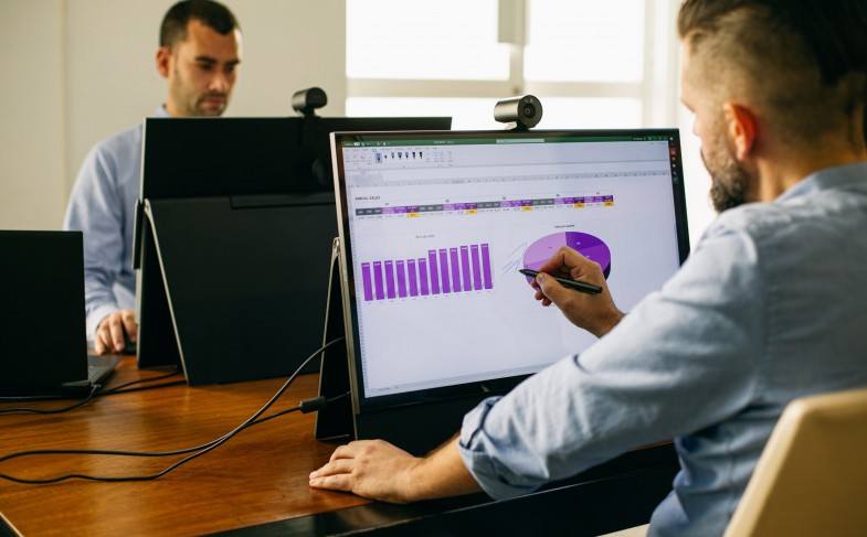 Collaborative digital workspace with Flex
