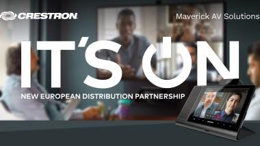 Maverick AV Solutions announces distribution agreement with Crestron
