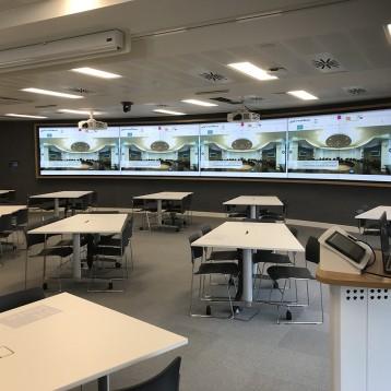 Peerless-AV® Video Wall Mounts Chosen for Imperial College London's New Harvard Style teaching Space