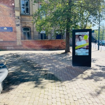 Visimi Digital Revitalises Bilston Town Centre with Outdoor Digital Signage Project