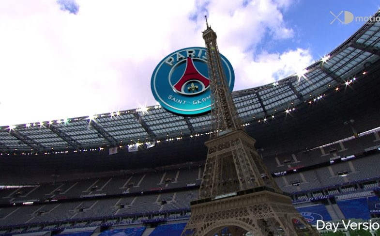 X-fly-3D-in-Stade-de-France-French-Cup-Finale-2021-AS-Monaco-PSG-Augmented-Reality