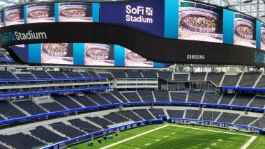 SoFi Stadium's 70,000 Square-Foot Videoboard