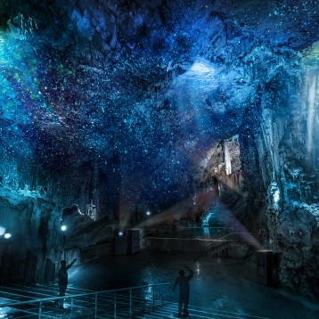 Pixel artworks awakens the rock of gibraltar with one of the most complex projection mapping projects ever created