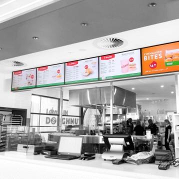 Krispy Kreme used Amped Digital to streamline digital menu solution in Australia and New Zealand