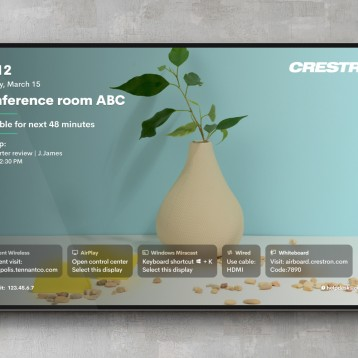 Crestron Launches Next Generation AirMedia Wireless Presentation Solution for Today's Enterprise Workplace