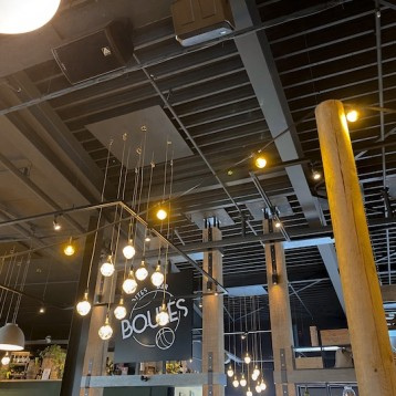 Amate Audio installation delivers premium sound in Rotterdam 'Jules Boules Bite Bar' drinking, dining and jeu de boules experience