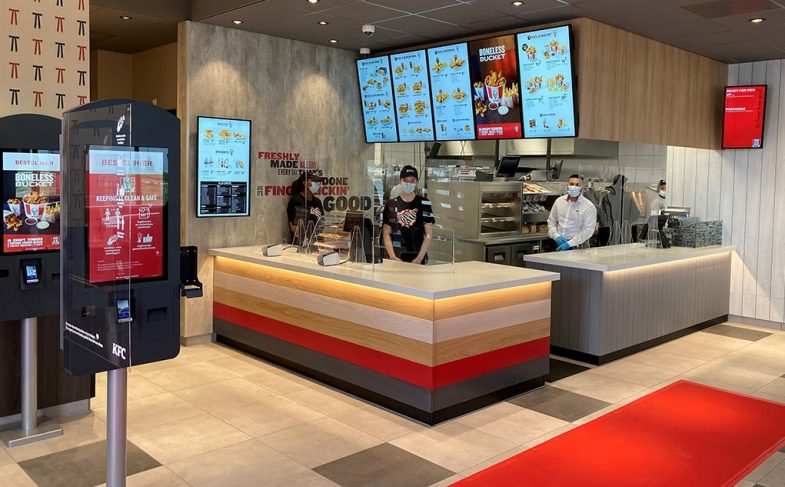 KFC ZetaDisplay and BOOSTR Agency 2021