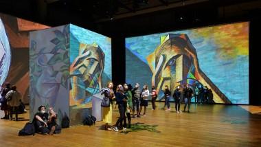 Panasonic Projectors Show Impressionist Masterpieces In Immersive New Ways