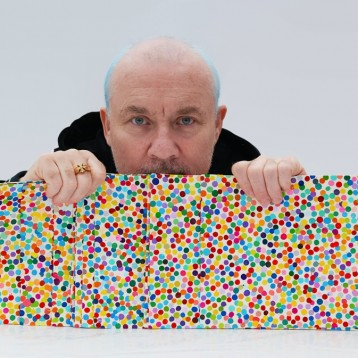 LG presents LG X Damien Hirst: A History of Painting,  An exploration of iconic artworks at Frieze London 2021